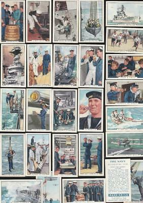 Full Set  48 The Navy The Navy By Park Drive 82Yrs Old  Cigarette Cards