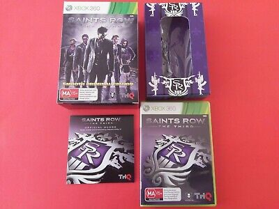 SAINTS ROW THE THIRD SMOOTH CRIMNAL EDITION Limited Collector's Edition Xbox360