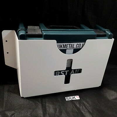 First Aid Kit & Wall Mount Bracket 10 Person 10HSE Kitchen Catering Restaurant