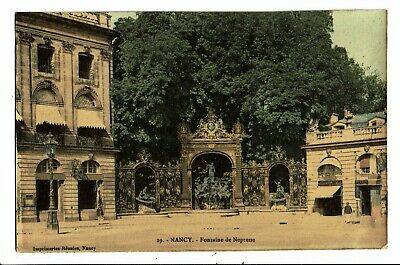 CPA-Carte Postale-France Nancy-Fontaine de Neptune (ensemble)- VM5722