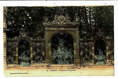 CPA-Carte Postale-France Nancy-Fontaine de Neptune (détail)- VM5723