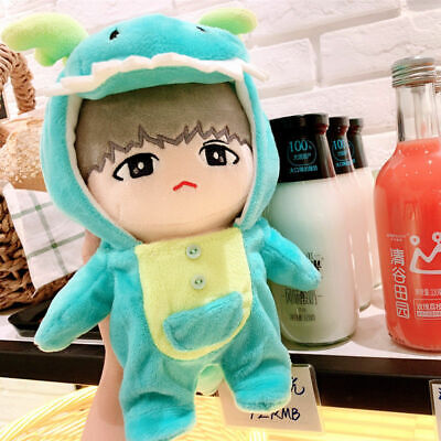 KPOP Shinee Nct EXO BTS Plush Doll Clothes Cute Animal Overall New without doll