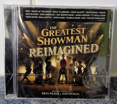 THE GREATEST SHOWMAN REIMAGINED CD (Released 16/11//2018) - Pink, Jess Glynne