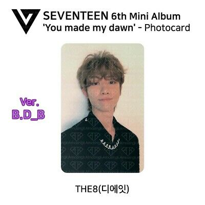 SEVENTEEN : You Made My Dawn Official Photocard - THE 8 (Before Dawn B)