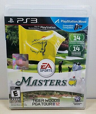 Tiger Woods PGA Tour 12: The Masters - Sony PlayStation 3, 2011 - Complete