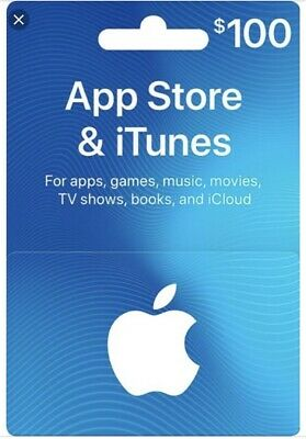 Apple iTunes gift card $100 (Digital Only)