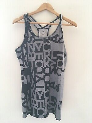 adidas climalite Racer Back Vest Top Size S 8-10 In Vgc