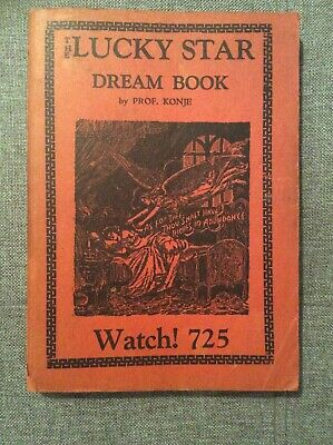 LUCKY STAR DREAM Book Prof Konje 224 Pages WATCH! 725