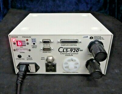 Particle Measuring Systems CLS-920 Chemical Pneumatic Control Module