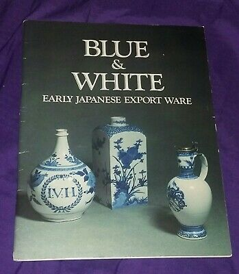 Antique Blue White Japanese Export Ware China 70's Reference Book Estate