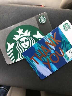 2X $25 Starbucks Gift Cards. $1 Shipping!!!           $50 total Value.