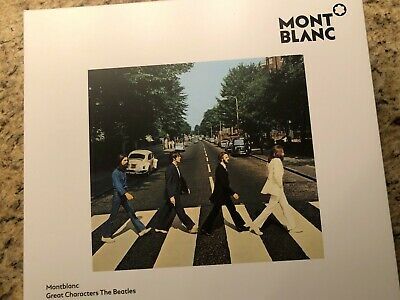 Montblanc Great Characters Beatles Limited Edition 1969 Roller Ball 116260 NIB