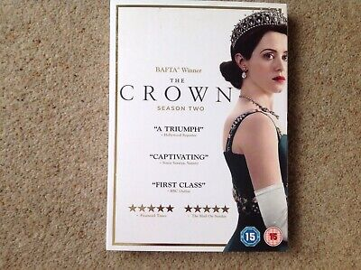The Crown Season 2 Dvd New/sealed
