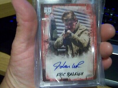 walking dead # 1/1 Jordan woods robinson ERIC Autograph Collection signed red!!!