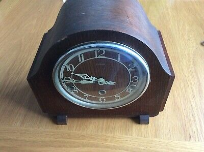 Enfield Westminster chime mantle clock 1930s