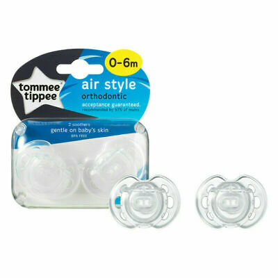 Tommee Tippee Closer to Nature Air-Style Schnuller 0-6m Rosa
