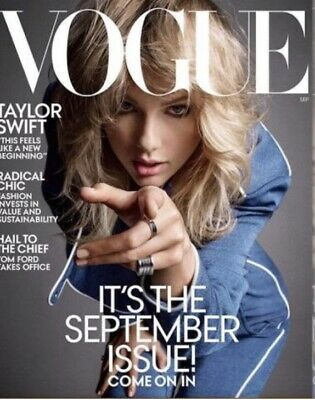 VOGUE Magazine (Sept 2019) TAYLOR SWIFT The September Issue!