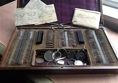 Antique Eye Testing/ Trial Set / late 19th Century
