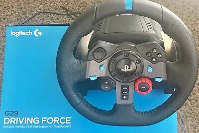 Like New Logitech Driving Force G29  Racing Wheel With Pedals & FREE SHIFTER