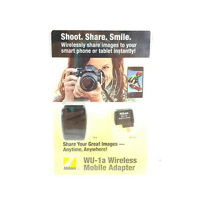Nikon WU-1a Wireless Mobile Adapter New FACTORY SEALED