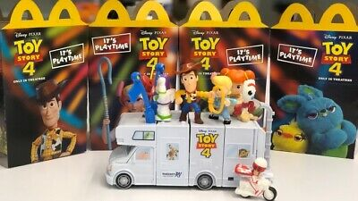 McDonalds Toy Story 4 Happy Meal Toys