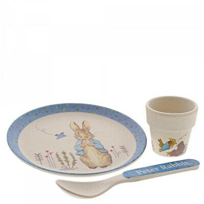 Beatrix Potter Peter Rabbit Organic Egg Cup Dinner Set