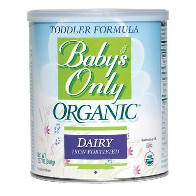NATURE'S ONE 761Gzx1 1 EA Baby's Only Organic Dairy Toddler Formula,12.7 oz.