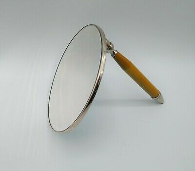 Vintage Art Deco Folding Travel Makeup Mirror
