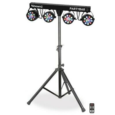 Beamz All-In-One DJ Effect System Party Light Bar LED Par FX Partybar-3