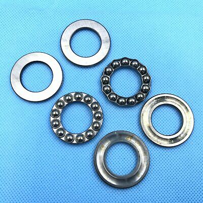 10pcs 25 x 42 x 11mm Axial Ball Thrust Bearing 51105