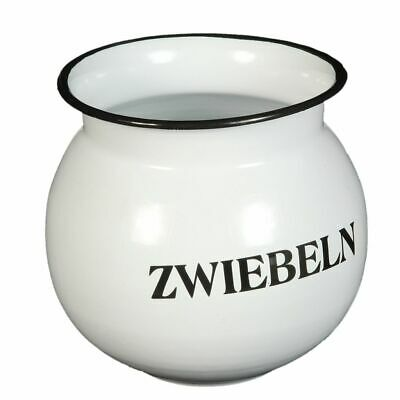 Emaille-Zwiebeltopf 15cm