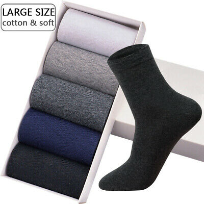 High Quality Men's Cotton Socks New styles Large Size Breathable Autumn Winter