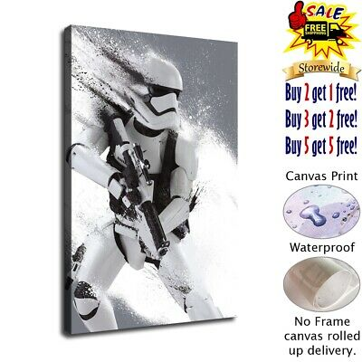 Imperial Stormtrooper HD Canvas prints Home Decor Wall art picture 12X18inch