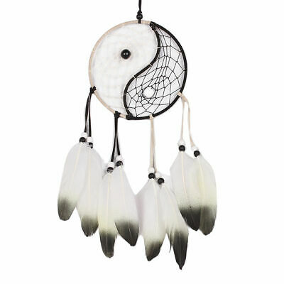 Large Dream Catcher With Feathers Car Wall Hanging Home Decoration Ornament Gift