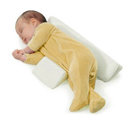 Newborn Baby Infant Round Pillow Sleeping Support Prevent Flat Head Cushion N7