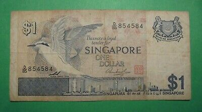 Singapore $1 Note.