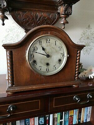 Antique  German Mantel clock with Westminster  chimes