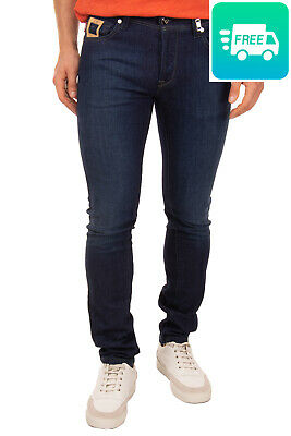 M/&S Blue Harbour Jeans A Sigaretta con stretch NUOVE