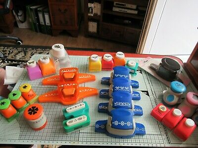 Bundle Of 26 Punches – Xcut, Woodware, Carl Etc