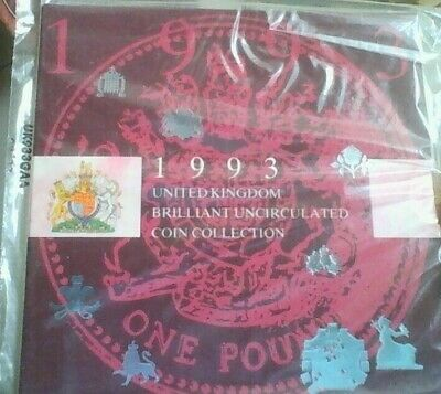 Rare Dual Dated  1992-1993 Presidency Eec 50P Coin Set Royal Mint Sealed