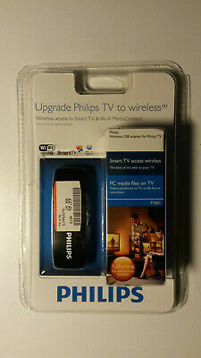 Philips PTA01/00 Wireless USB Wi-Fi-Smart TV-Adapter Dongle WLAN Top