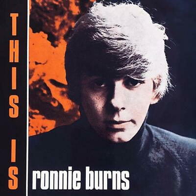 RONNIE BURNS This Is Ronnie Burns CD ALBUM  NEW (20THSEPT)
