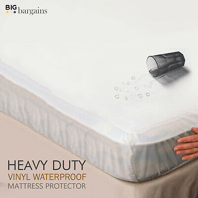 Waterproof Mattress Protector Covers For Double King Single Super King Bed Types