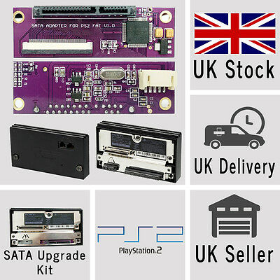 Sony PlayStation 2 PS2 SATA Upgrade Kit for Original Network Official Adaptor