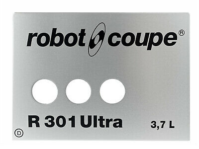 R301Ud Front Plate Robot Coupe 407834