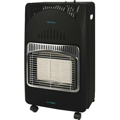 Stufa a Gas Cecotec Ready Warm 4000 Slim Fold 4200W Nero