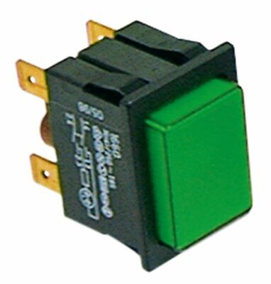 Push Switch Mounting Measurements 30X22Mm Green 2No 250V 16A Illuminated