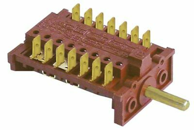 Operation Switch 6 Operating Positions 7No Sequence 0-1-2-3-4-5 16A Shaft