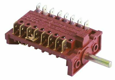 Operation Switch 6 Operating Positions Sequence 0-1-2-3-4-5 16A Shaft D 6X4.6Mm
