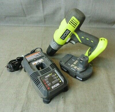 Ryobi P271 18V 1/2'' Cordless Drill W/battery,charger (199520-4 Gn)